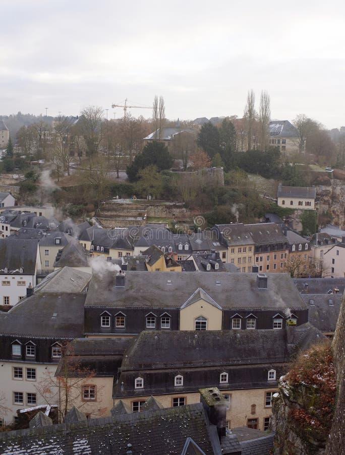 Widok od pięknego balkonu Europa fotografia royalty free