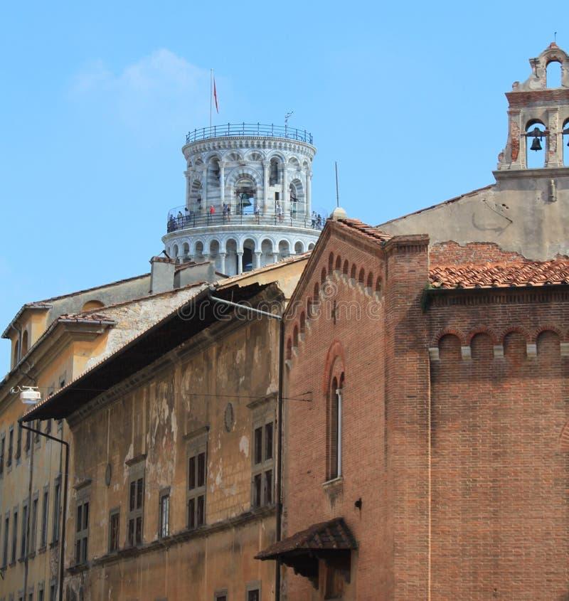 Widok od Pisa miasteczka zdjęcia royalty free