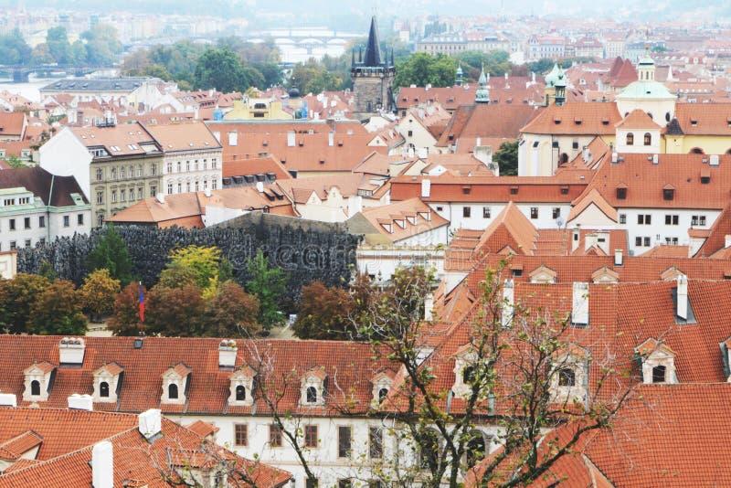 Widok od Praga kasztelu, 2017 obrazy royalty free