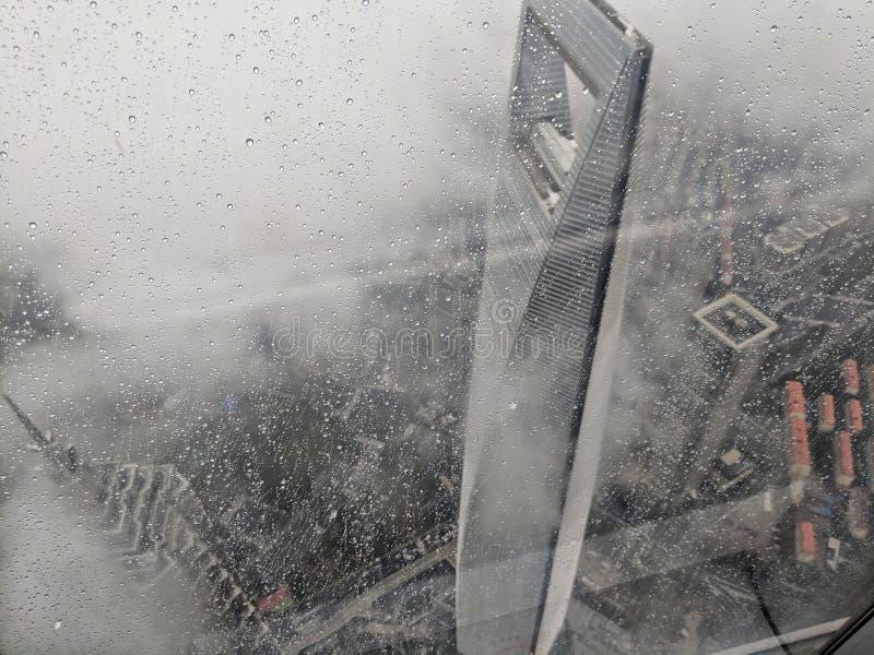 Widok od Shanghai wierza obraz royalty free