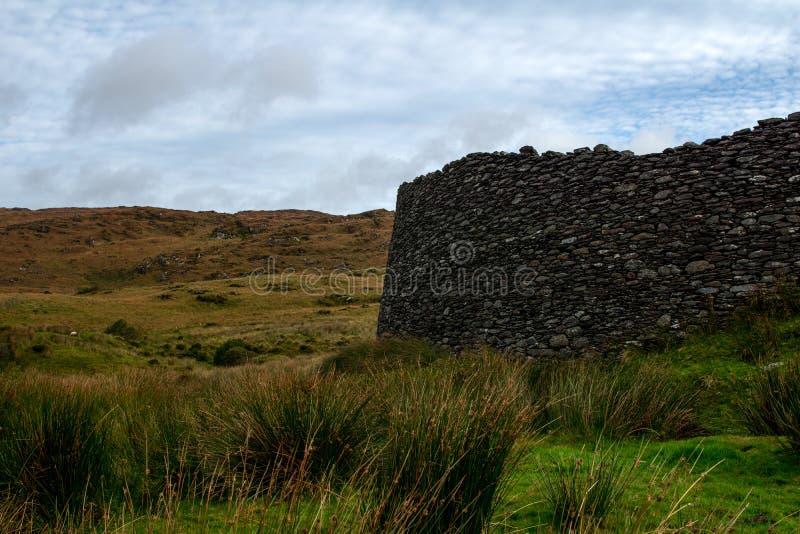 Widok od staigue fortu w Ireland zdjęcie royalty free