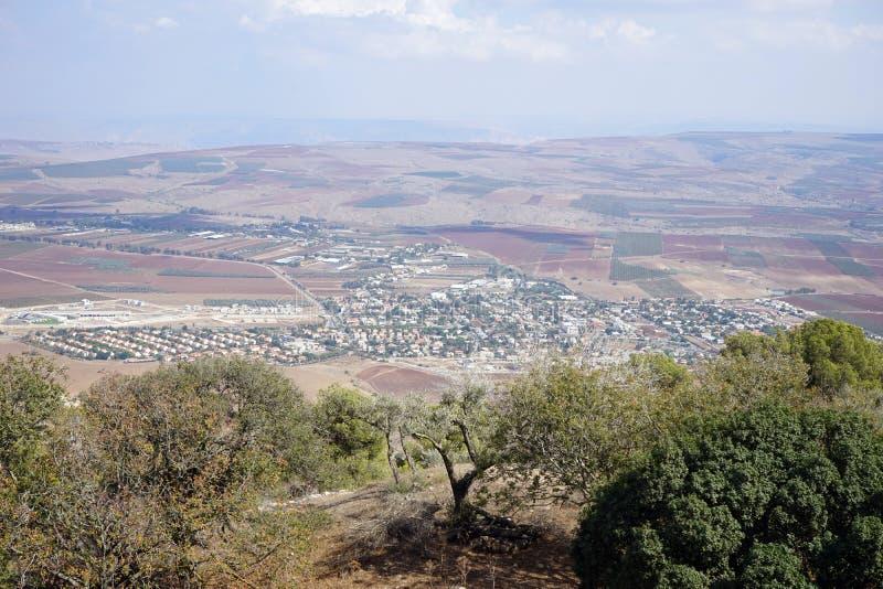 Widok od Tavor góry fotografia royalty free