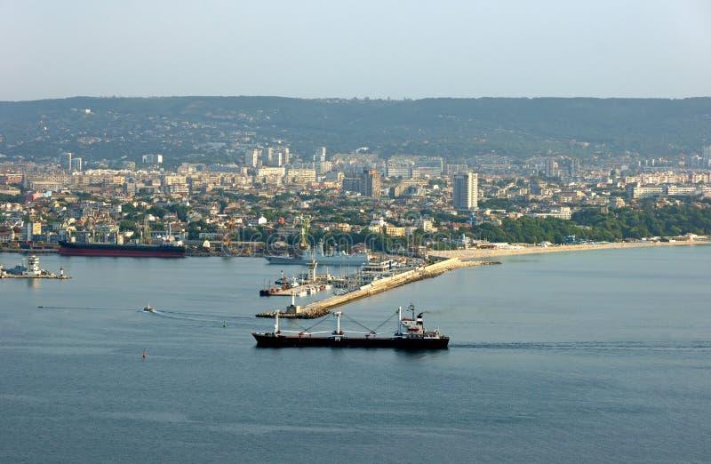 Widok od Varna fotografia royalty free
