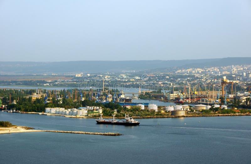 Widok od Varna zdjęcia stock