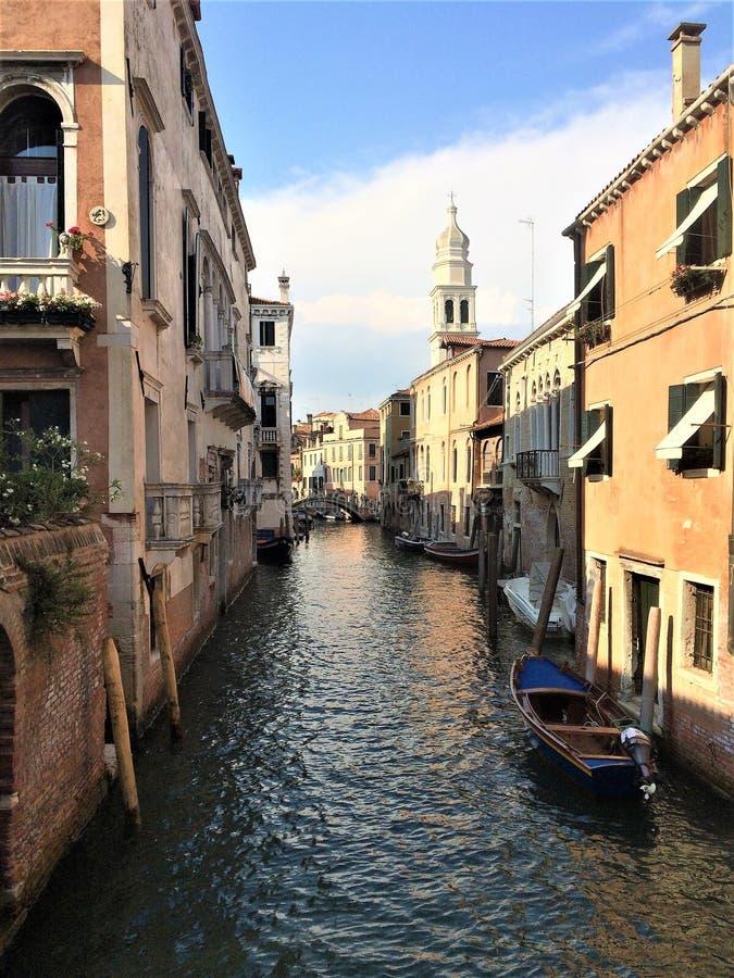 Widok od Wenecja zdjęcia royalty free