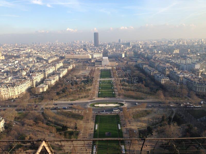 Widok od wieży eifla obraz stock