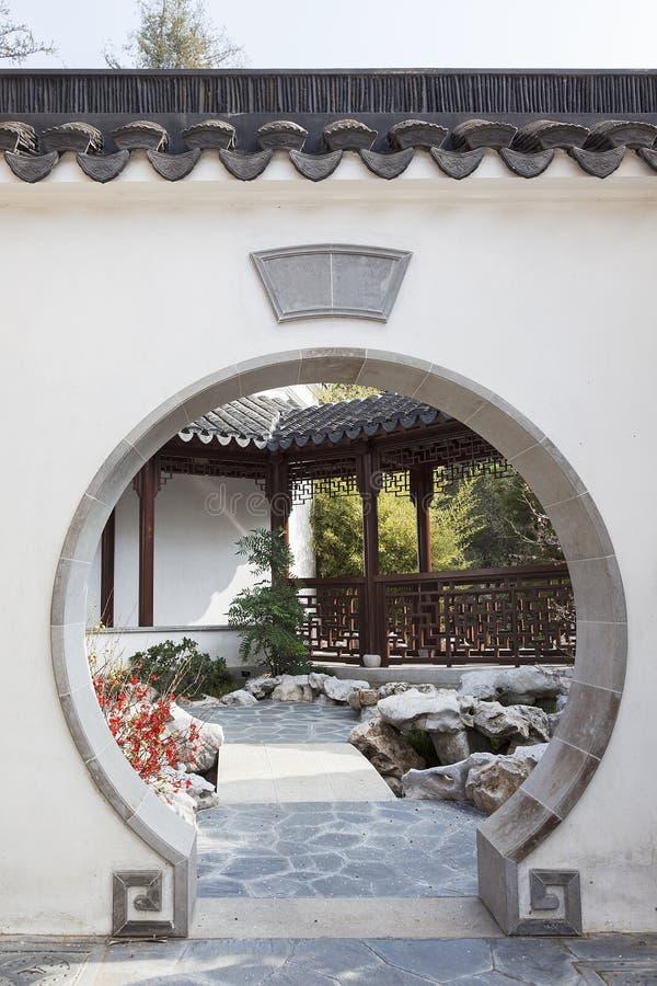 Orientała ogród obrazy stock