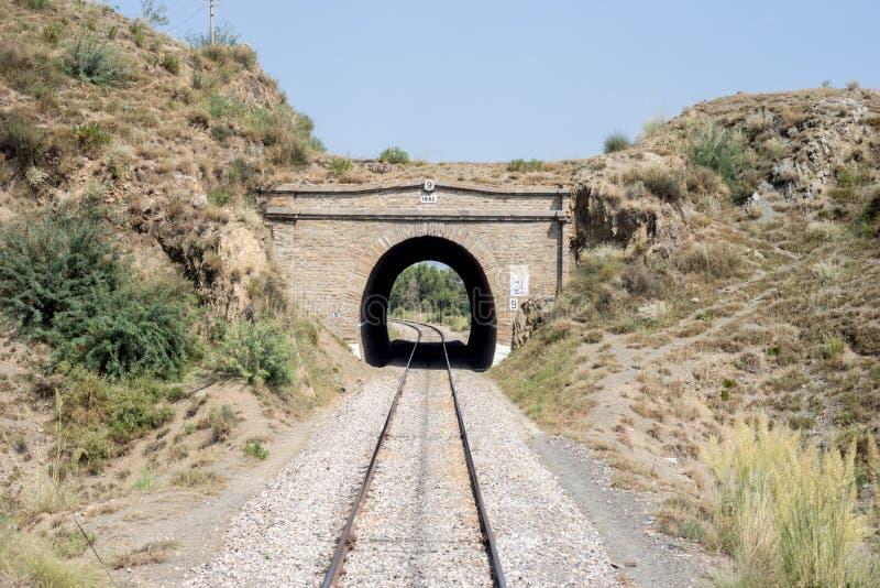 Widok Pakistan linii kolejowej most żadny: 9 Peshawar Nowshera obrazy stock