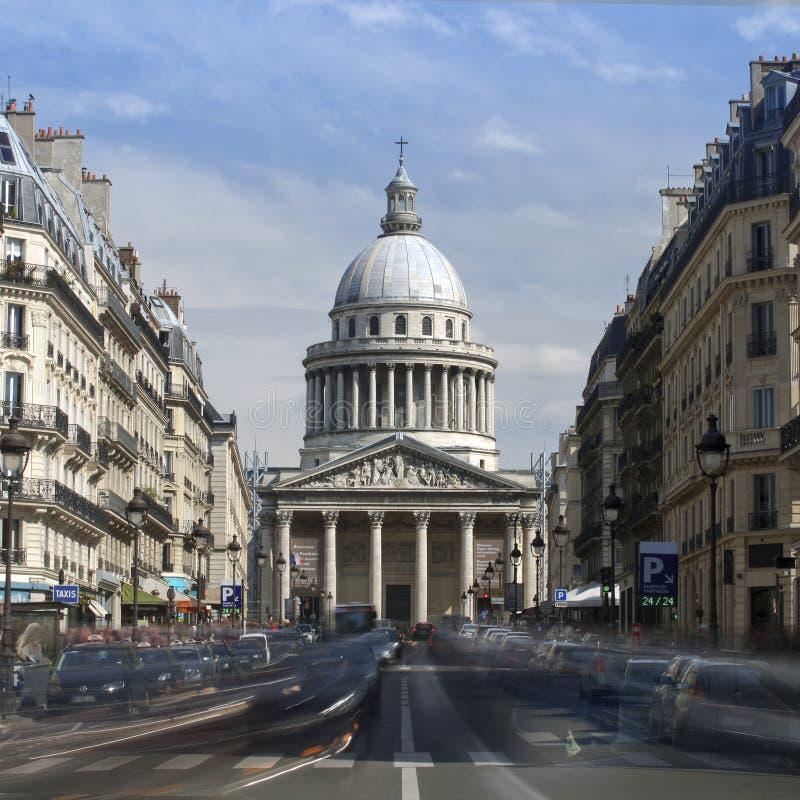 Widok panteon w Paryż zdjęcie royalty free