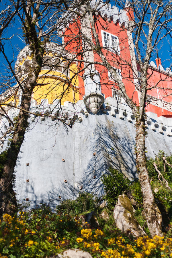 Widok Pena pałac obrazy royalty free