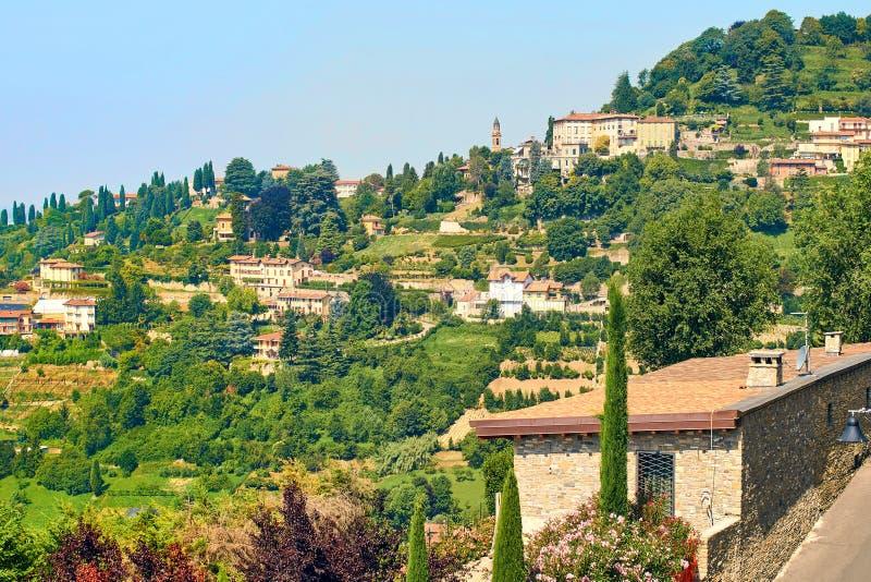 Widok piękny Północny Włochy lata krajobraz zdjęcia royalty free