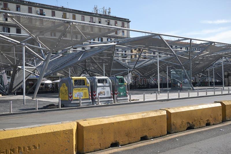 Widok piazza Garibaldi zdjęcia royalty free