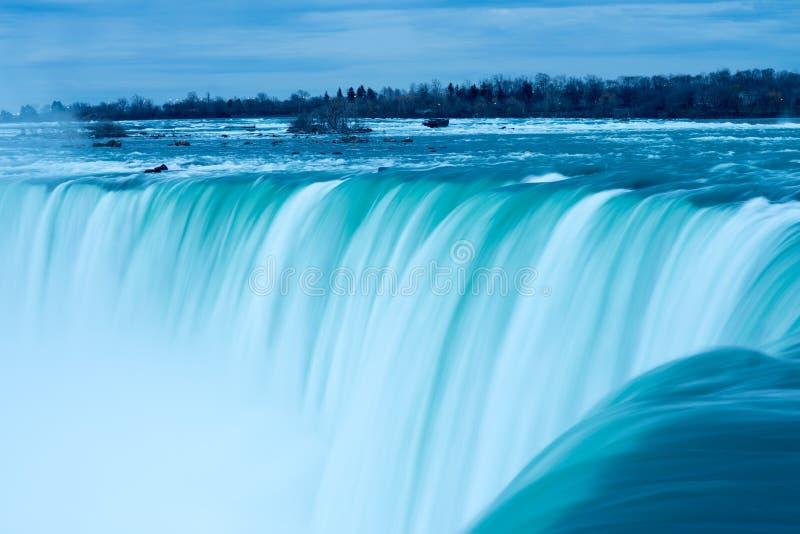Widok podkowa spadek, Niagara Spada, Ontario, Kanada obrazy stock