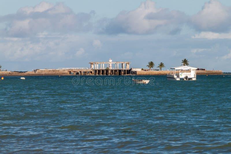 Widok Ponta Verde obraz stock