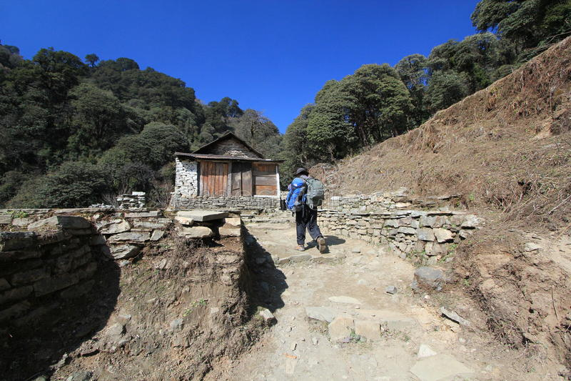 Download Widok Poon wzgórze w Nepal obraz editorial. Obraz złożonej z dorosły - 53785315