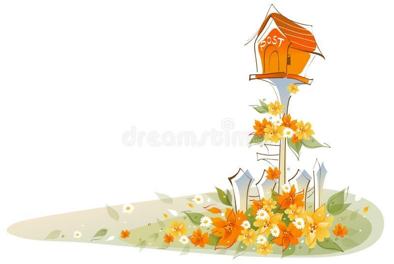 Widok Postbox ilustracji