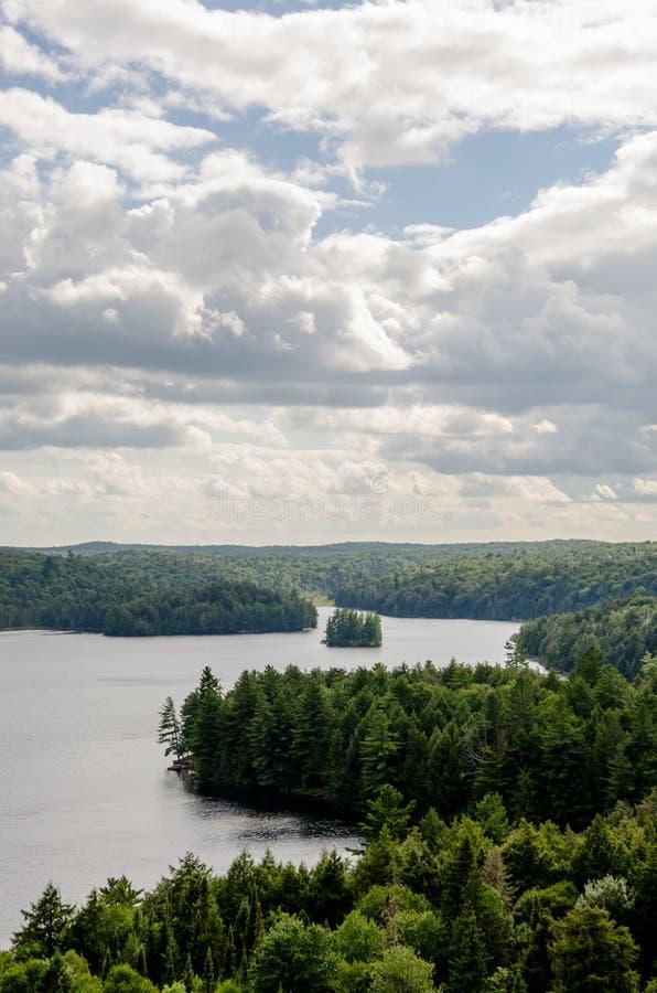 Widok przegapia Ontario krajobraz zdjęcie royalty free