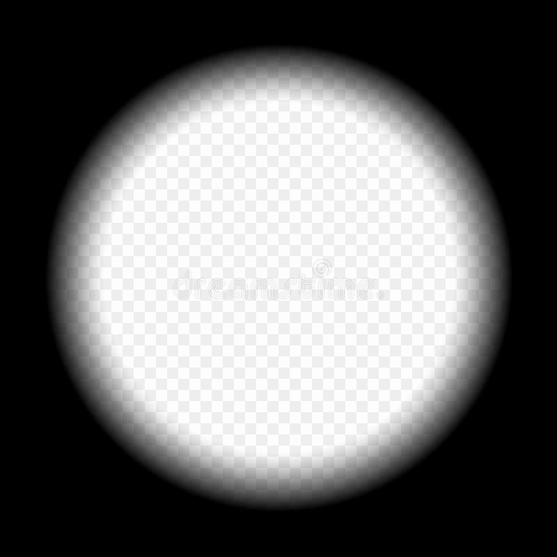 Widok przez teleskopu, viewfinder snajpera zakres Pojęcie rewizja, obserwacja rabatowy bobek opuszczać dębowego faborków szablonu royalty ilustracja