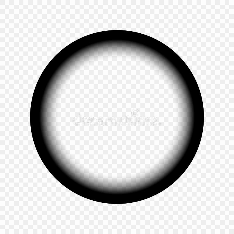 Widok przez teleskopu, viewfinder snajpera zakres Pojęcie rewizja, obserwacja rabatowy bobek opuszczać dębowego faborków szablonu ilustracji