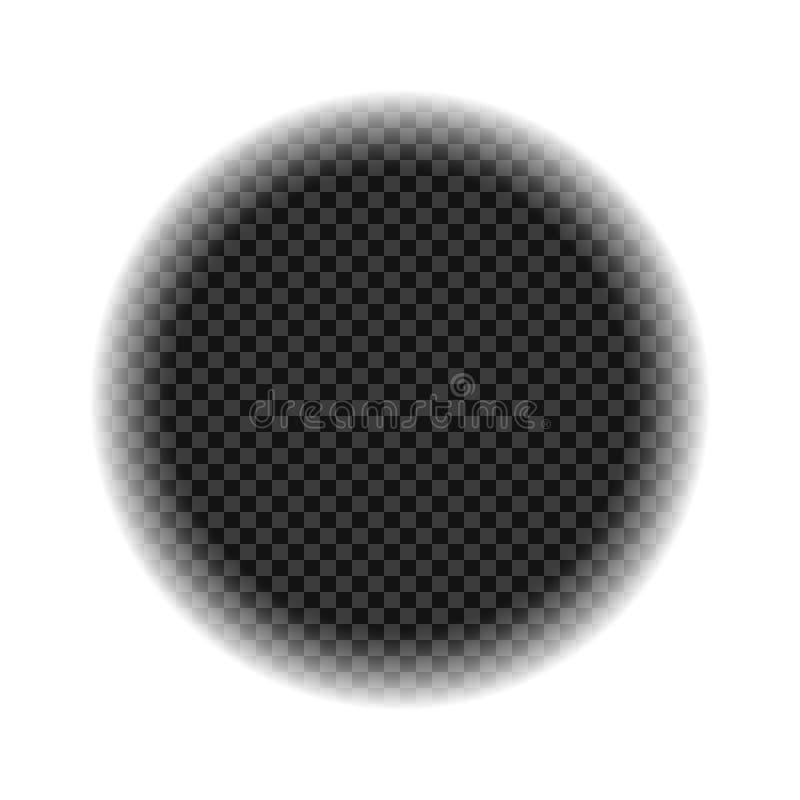 Widok przez teleskopu, viewfinder snajpera zakres Pojęcie rewizja, obserwacja rabatowy bobek opuszczać dębowego faborków szablonu ilustracja wektor