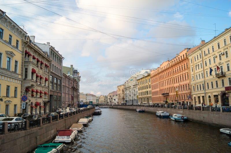 Widok przy mostem zdjęcie royalty free