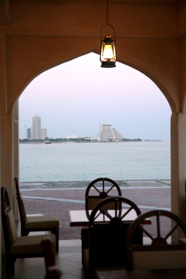 widok restauracji obrazy stock