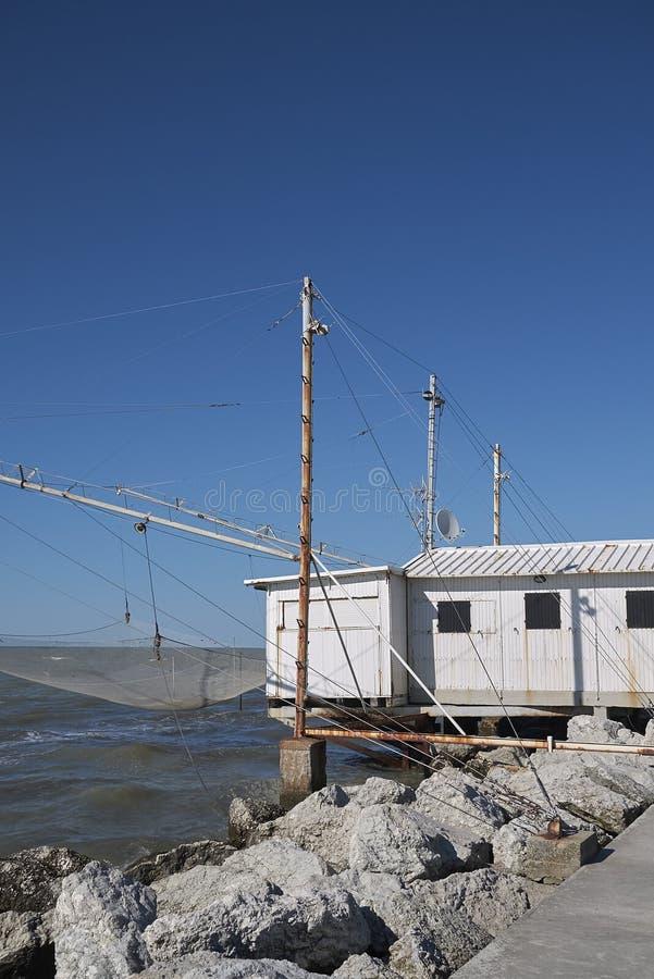Widok rybaka dom zdjęcia royalty free
