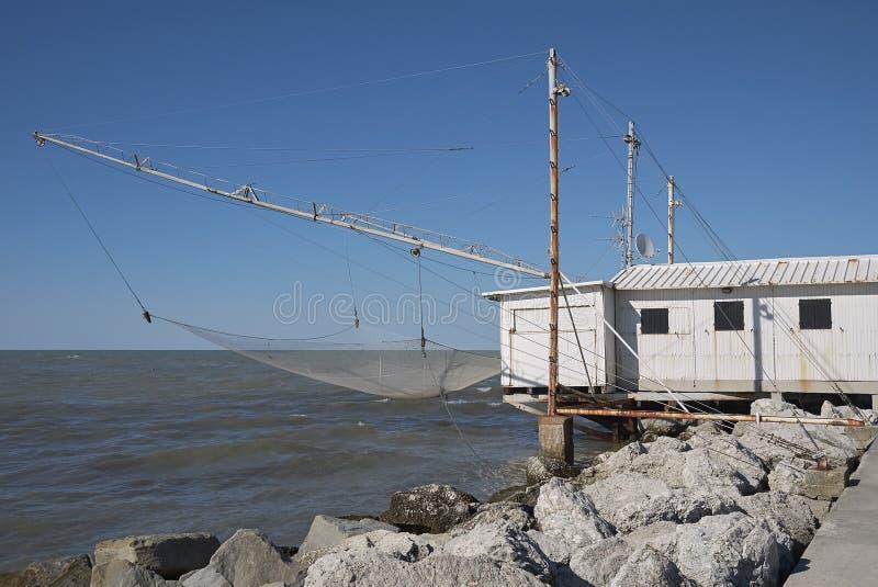 Widok rybaka dom obrazy royalty free