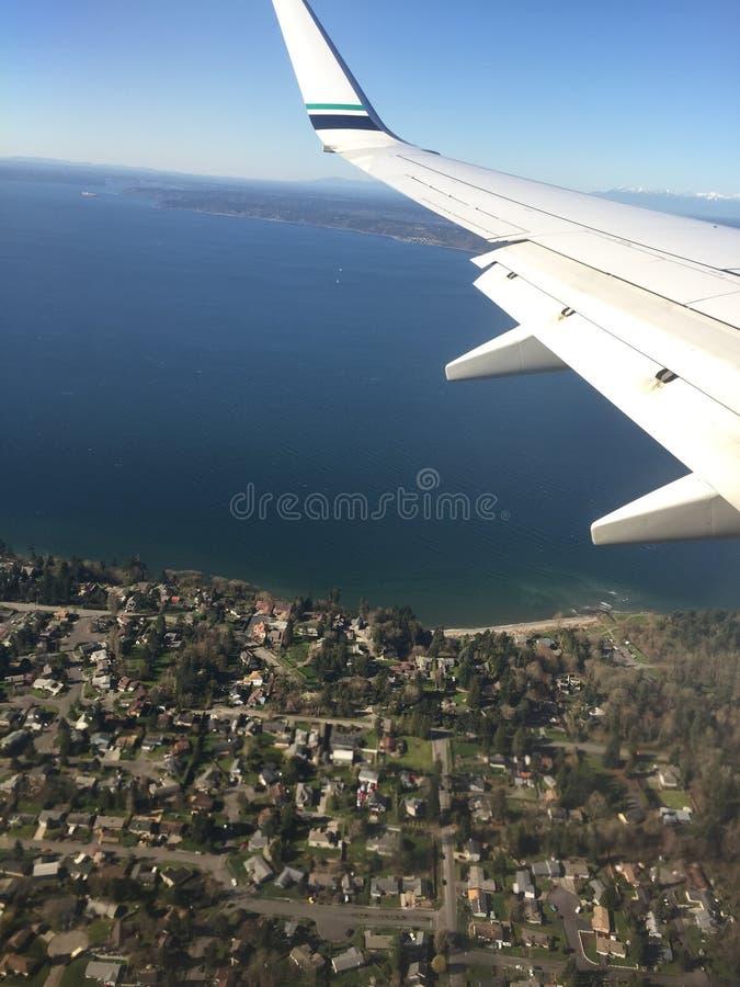 Widok samolotu zdjęcia royalty free
