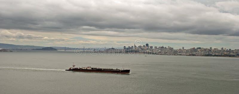 Widok San Francisco zatoka, Kalifornia obrazy stock