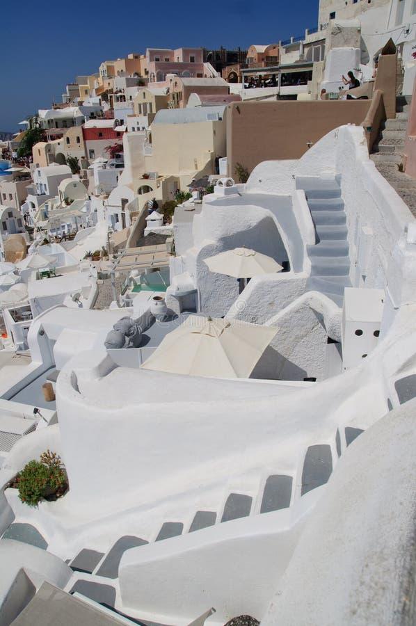 Widok Santorini zdjęcia royalty free
