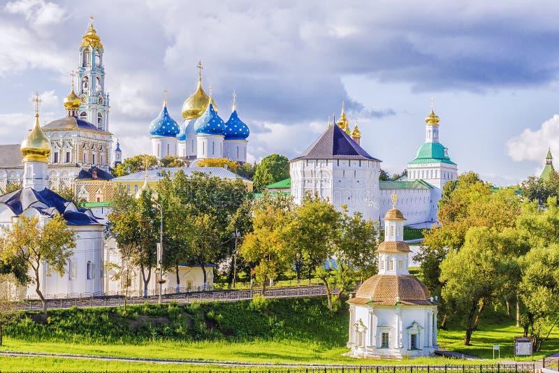 Widok Sergiev Posada, Rosja fotografia royalty free