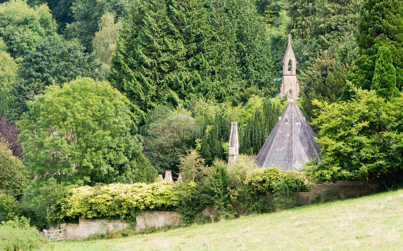 Widok Smallcombe cmentarz, skąpanie fotografia stock