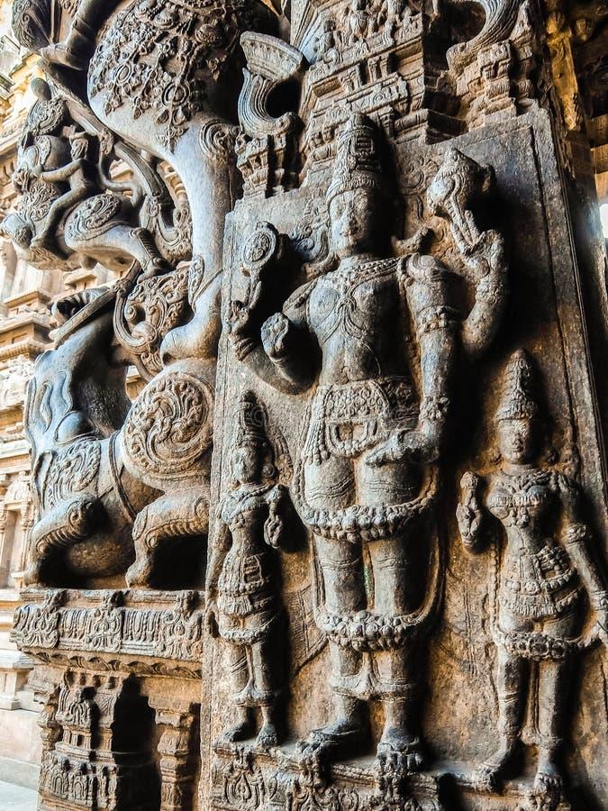 Widok Sri Jalakandeswarar świątynia w Vellore obrazy royalty free