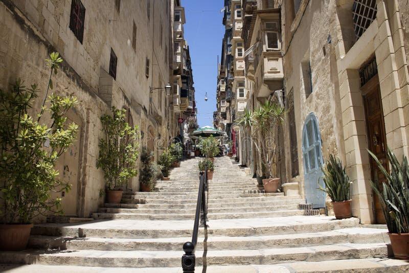 Widok stara, dziejowa ulica w,/ Wizerunków przedstawienia obrazy royalty free