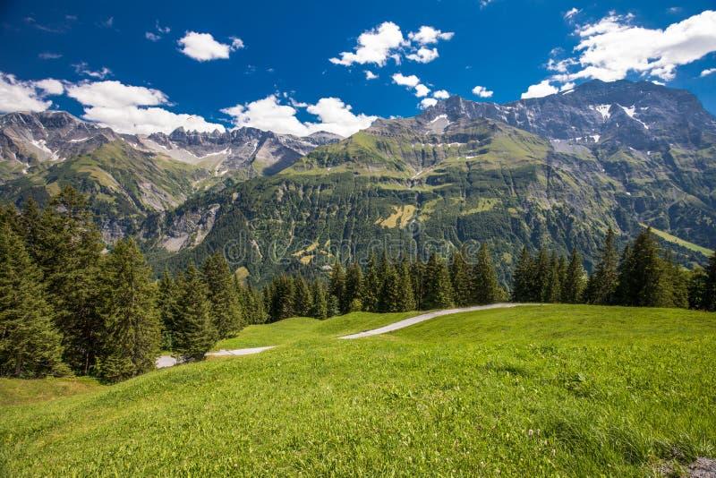 Widok Szwajcarskie g obraz stock