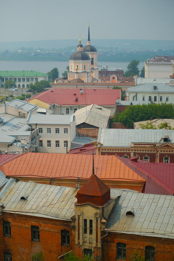 Widok Tomsk fotografia royalty free