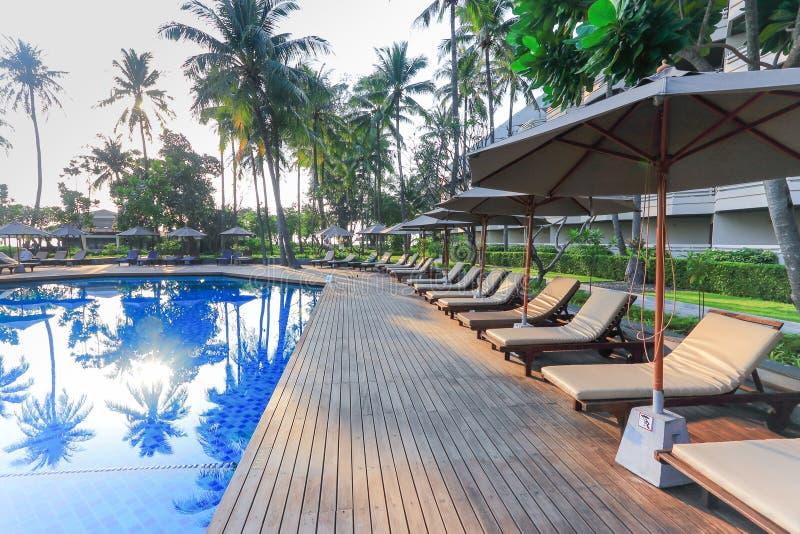Widok tropikalny kurort w południe Tajlandia fotografia royalty free