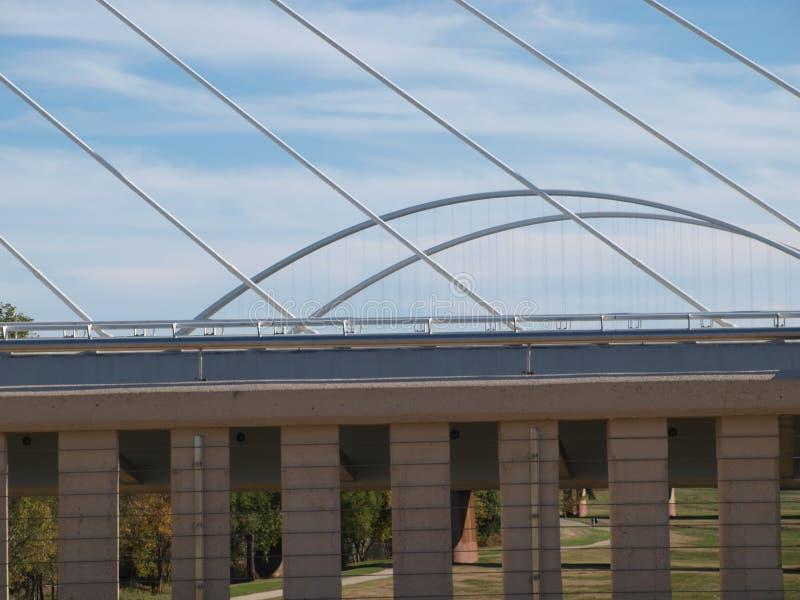 Widok Trzy mosta obraz royalty free