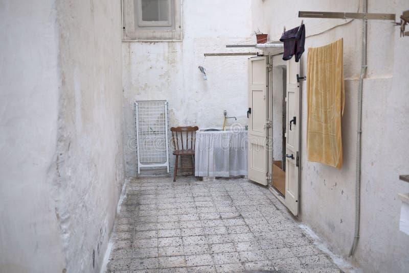 Widok ulicy Gallipoli obrazy royalty free
