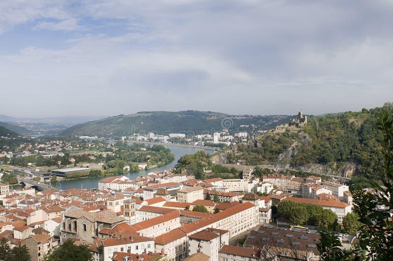 Widok Vienne obrazy royalty free