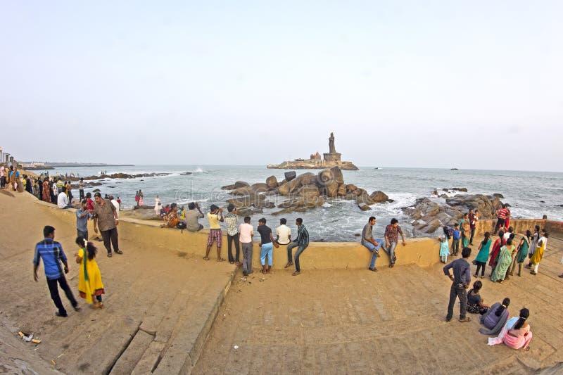 Download Widok Vivekananda pomnik zdjęcie stock editorial. Obraz złożonej z brzeg - 41955273