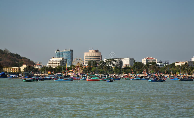Widok Vung Tau Wietnam obrazy stock