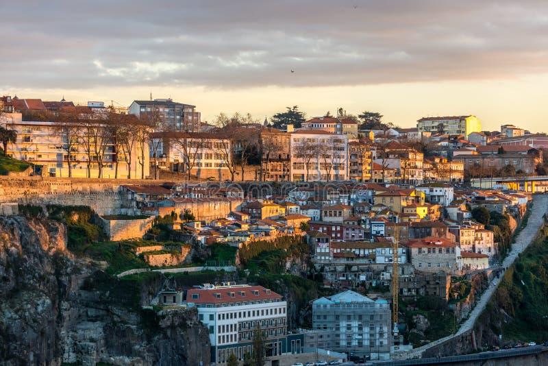 Widok w Porto zdjęcia royalty free
