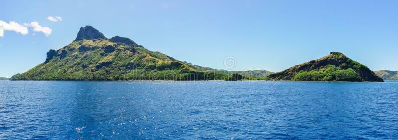 Widok Waya Lailai wyspa w Fiji zdjęcie royalty free