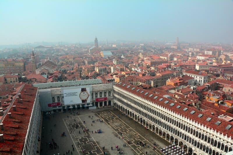 Widok Wenecja od above zdjęcie royalty free
