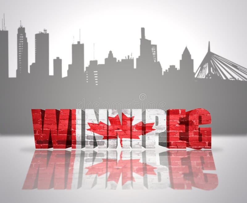 Widok Winnipeg obraz stock