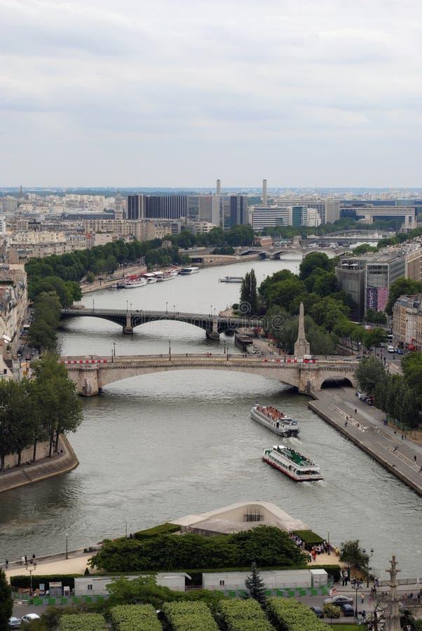 Widok wonton rzeka zdjęcie royalty free