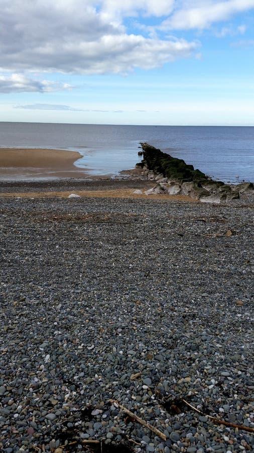 Widok wybrzeże zdjęcie stock