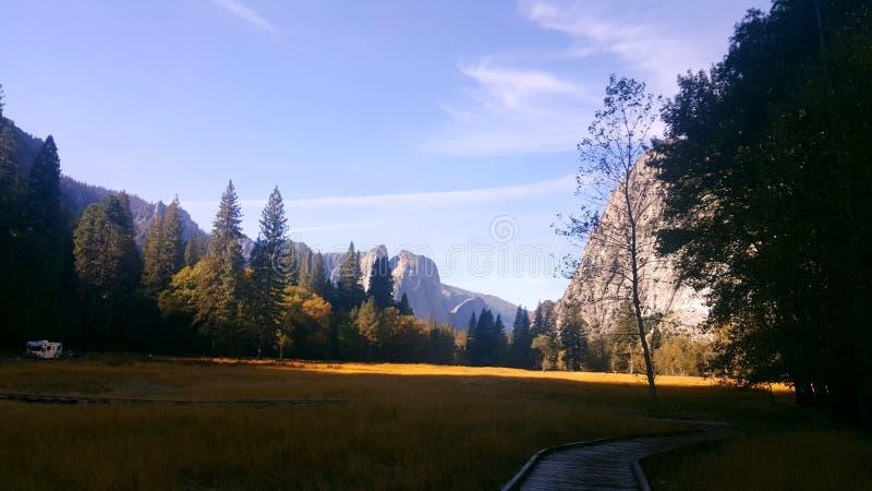 Widok Yosemite obrazy stock